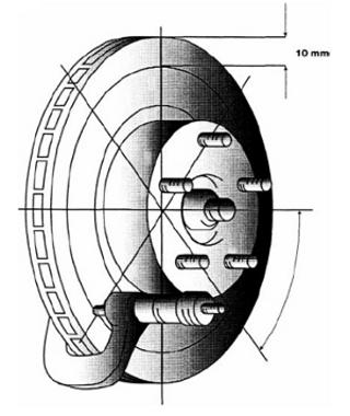 diagnostico frenos 08 medicion de rotor