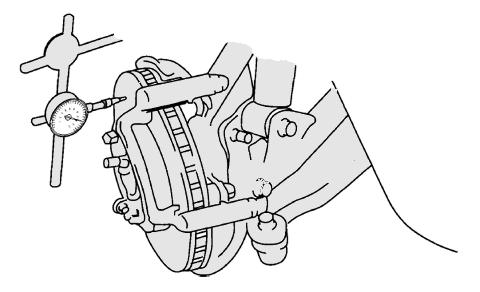 diagnostico frenos 11 medicion de rotor